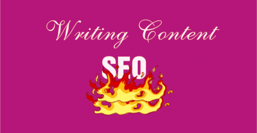Writing content for Seo ranking