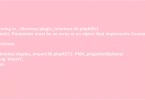 error count phpmyadmin