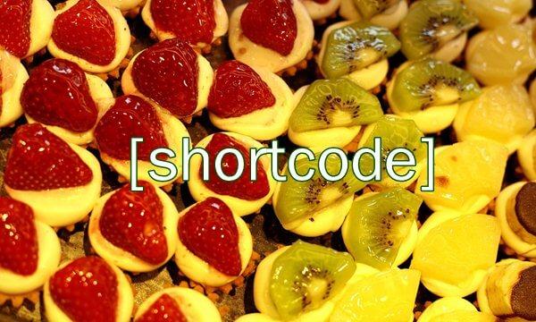 add shortcode