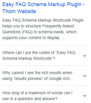 faq schema markup example