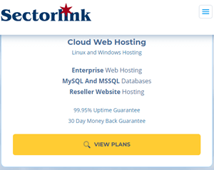 sectorlink wordpress hosting
