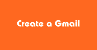 Create a gmail account for others