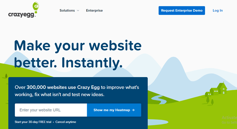 crazy egg photo