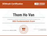seo fundamentals test